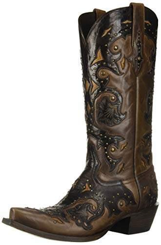 db6b367937e Classics Women's Fiona-Stud Scarlette Cafe Bn Calf Riding Boot
