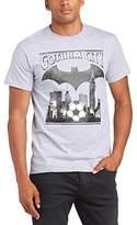 DC Comics Men's Gotham City Regular Fit Round Collar Short Sleeve T-Shirt