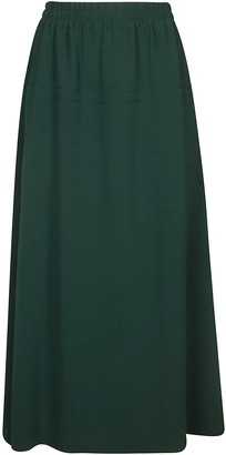 Alberto Biani Elasticated Waist Long Skirt