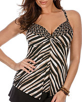 Miraclesuit Opposites Attract Love Knot Underwire Tankini