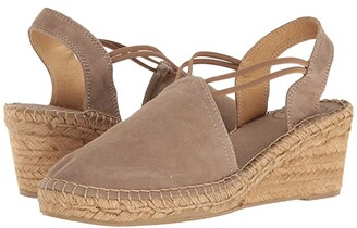 Toni Pons Tremp (Black Suede) Women's Shoes