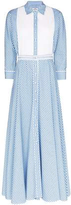 Evi Grintela Garance collared maxi dress