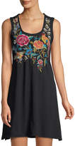 Johnny Was Lucia Embroidered Tank Dress