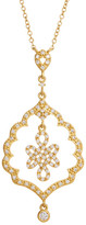 Freida Rothman 14K Gold Plated Sterling Silver Alhambra Love Knot Pendant Necklace