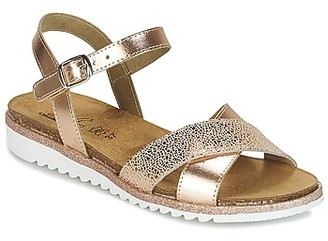 Citrouille et Compagnie GAUFRETTE girls's Sandals in Gold