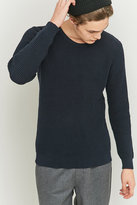 Suit Condor Navy Waffle Knit Jumper