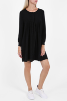 Paul & Joe Silk Drape A Line Dress