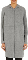 Cacharel WOMEN'S HOODED COAT-GREY SIZE 36 FR