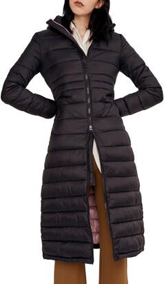 Noize Lightweight Long Puffer Coat