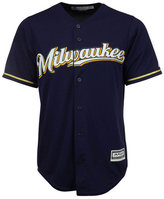 Majestic Men's Milwaukee Brewers Replica Cool Base Jersey