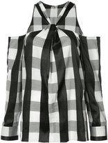 Rag & Bone Collingwood cold-shoulder top - women - Cotton - XS