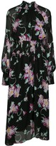 A.L.C. Casey floral print midi dress