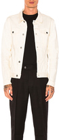 Zanerobe Greaser Denim Jacket in Ivory. - size L (also in S,XL)