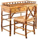 One Kings Lane Eastbrook Desk and Chair Set - Tortoise