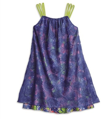 AMERICAN GIRL -Tropical Print Dress for Girls - Size: 12 (More Sizes Available)