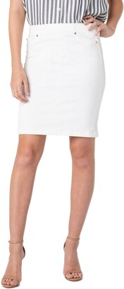 Liverpool Pull-On Pencil Skirt