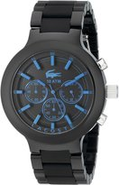 Lacoste Men's 2010772 Borneo Watch with Silicone Band