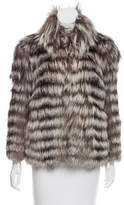 Matthew Williamson Fox Fur Jacket