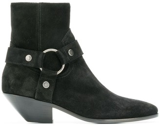 Saint Laurent West Harness Booties