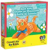 Creativity For Kids Sew Cute Sock Kitty