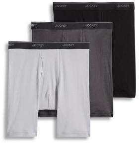 Jockey 3-Pack Staycool+ Cotton Midway Briefs