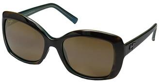 Maui Jim Orchid (Tortoise/Peacock/HCL Bronze) Polarized Fashion Sunglasses