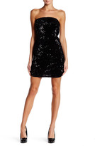 Zadig & Voltaire Strapless Sequin Silk Blend Dress