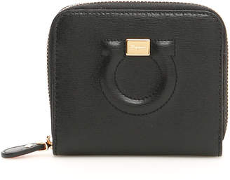 Salvatore Ferragamo Zip-around City Wallet