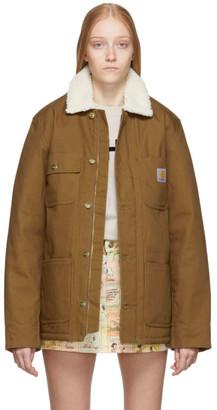 Carhartt Work In Progress Brown Fairmount Coat