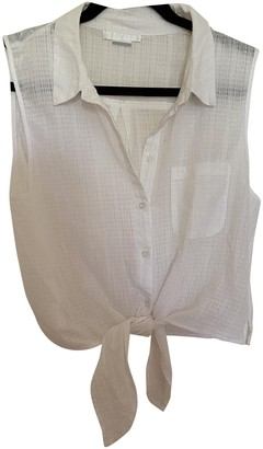 Urban Outfitters White Cotton Top for Women