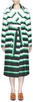 Emilio Pucci Oversized stripe coat