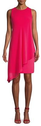 Karl Lagerfeld Paris Layered Scuba Dress