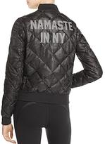 Alo Yoga Idol Graphic Bomber Jacket