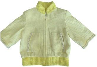 Chanel Yellow Tweed Jackets