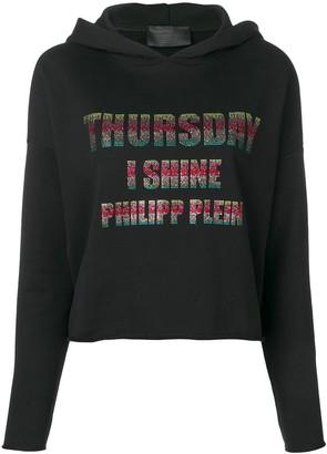 Philipp Plein Thursday hooded sweatshirt