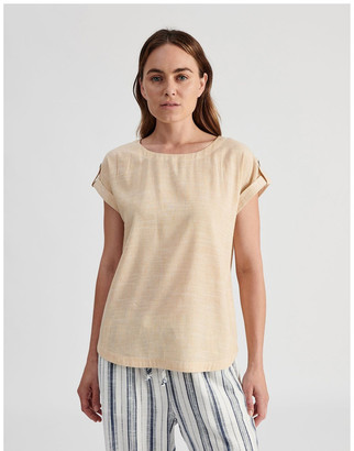 Regatta Extended Short Sleeve Top With Cuff & Button Tab