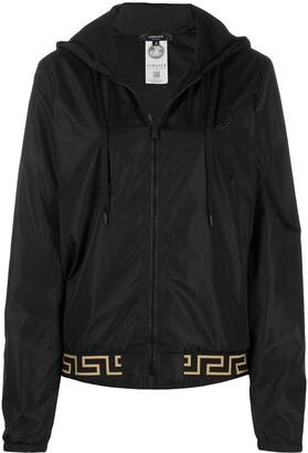 Versace Greca-print jacket