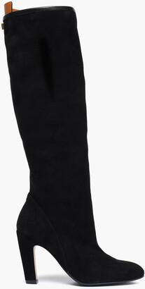 Stuart Weitzman Charlie Suede Knee Boots