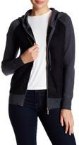 Colourworks Colour Works Raglan Sleeve Hooded Zip Jacket