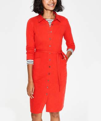 Boden Women's Tee Shirt Dresses Red - Light Red Tara Jersey Shirt Dress - Women, Women's Tall & Petite
