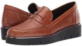 The Flexx Harrow (Black Crocco) Women's Shoes