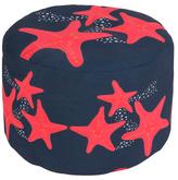 Surya Cutout Starfish Square Pouf