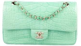 Chanel Crocodile Classic Double Flap Bag