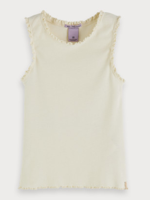 Scotch & Soda Rib Knitted Tank Top | Girls