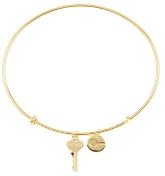 The Giving Keys Breathe Key Bangle Bracelet