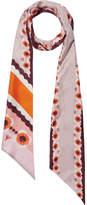 Fendi Reversible Printed Silk-twill Scarf
