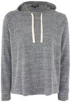 Topshop Boiled slouchy hoodie