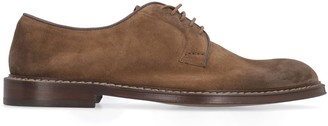 Doucal's Doucals Suede Lace-up Shoes