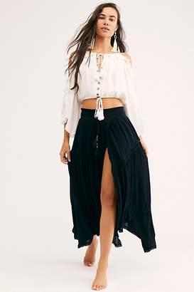 Free People Rosalie Maxi Skirt