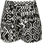 Topshop Aztec Printed Shorts